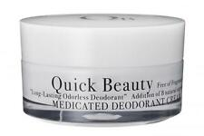 New QB Quick Beauty Medicated Deodorant Cream L 30g with Spatula fast shipping