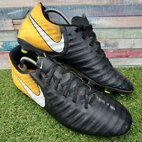 Nike Tiempo Legend 7 FG Football Boots UK12 US13 EU47.5 Orange Black