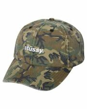 Camouflage 100% Cotton Strapback Hats for Men