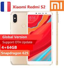 "3*caméra 5.99""xiaomi Redmi S2 4g 8core Téléphone 4 64go 12 5mp Face Touch ID FR"