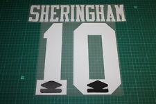 Tottenham Hotspur 92/96 #10 SHERINGHAM Awaykit Nameset Printing