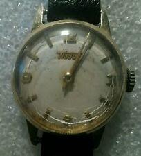"Ladies Mechanical Vintage Wrist Watch 14ct Gold ""Tissot"""