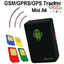 Mini A8 Time Car Kid Pet GSM/GPRS/GPS Global Locator Real Tracking Tracker Braw