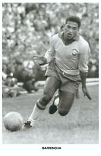 GARRINCHA - Legends of football series 2010 Photo postcard unused