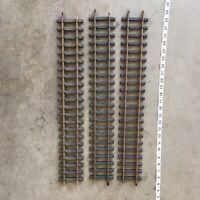 "Lot Of (3) Aristo Craft G Scale Brass Train Track Straight 24"""