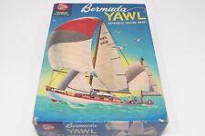 "Vintage Pyro Bermuda Yawl Sailing Sail Boat Model Kit 8"" Hull Part Kit"