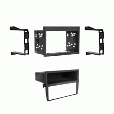 Double Din Radio Install Dash Kit for 97-04 Boxster, Car Stereo Mount 99-9605B