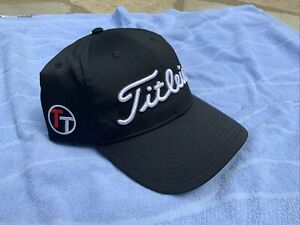 TEAM TITLEIST Hat Black  SOLD OUT NWT