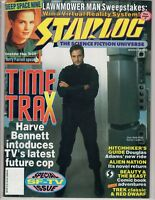 Starlog  Science Fiction March 1993  Time Trax Hitchhikers   Lawnmower Man