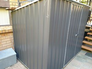 Skillion Roof Garden Shed Bunnings ABSCO grey in Colour