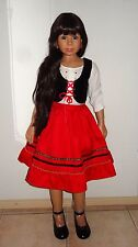 Little Red Riding hood Doll by Monika Levenig- A rare find!
