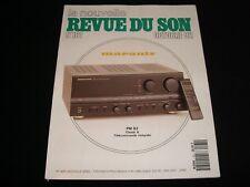 LA NOUVELLE REVUE DU SON<>OCTOBER 1992<>FRENCH AUDIO MAG.°#161°KRELL CD°