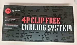PYT Pretty Young Thing (New 4Pc Clip-Free Curling System & Mit Intertek 3115066)