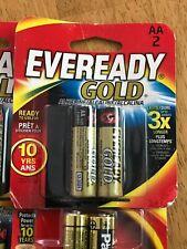 12 Eveready Gold AA Alkaline Battery: 6  2-Packs