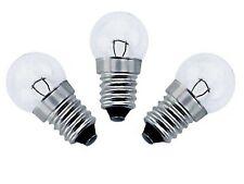 ERSATZBIRNEN 6V 0.6W E10 FAHRRAD GLÜHBIRNE FÜR STANDARDSCHEINWERFER LAMPE