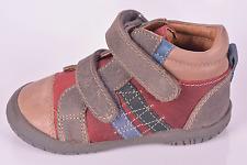 Noel Mini Folky Infant Boys Red Leather Shoes UK 6 EU 23 US 6.5