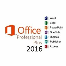 Microsoft Office 2016 Professional Plus 5PC MAC WIN & MORE 365 Lifetime Account