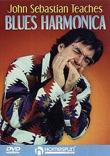 John Sebastian Learn To Play Blues Harmonica Lesson DVD