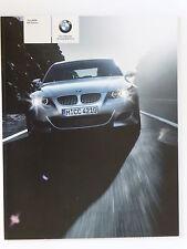 BMW M5 SALOON  SALES BROCHURE  2004