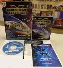 Computer Game Gioco PC CD-ROM ITALIANO X-COM INTERCEPTOR Micropose Leader ITA IT