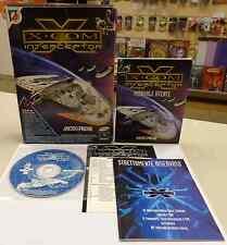 Computer Game Gioco PC CD-ROM ITALIANO X-COM INTERCEPTOR Micropose Leader ITA IT