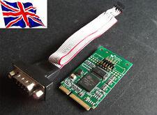 Mini PCIe PCI Express 1 Serial 16C950 Card 1S