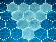 Ice 1-Hex Tile X10  Heroscape Terrain - Thaelenk Tundra