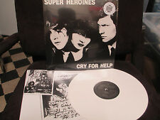 Super Heroines Cry for Help LP Death Rock Eva O. S.Ross Del Mar R. Gothic