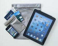 Aloksak ShieldSak Pouch Block Electronic Signals Tablets 8X10 Silver SHSAK-SL-T