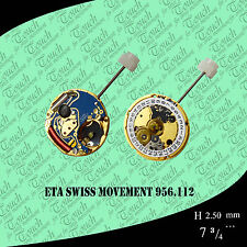 eta swiss movement 956.112 disk 3 hieght 1 gold 100% new
