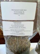 Decomposed Granite Sand/ 1 lb.RE-MINERALIZES SOIL/Seed Starting/Seedlings/Plants