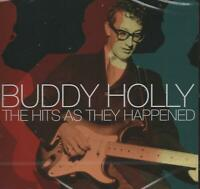 BUDDY HOLLY - THE HITS AS THEY HAPPENED - NEW CD!!