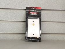 RadioShack Coaxial / RJ-14 Wall Plate - Gold Plated - Cat 15-2034