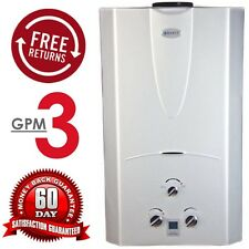 Marey 3.1 GPM Tankless Water Heater 10 LP Liquid Propane Gas w/ LCD Display Temp