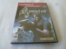 FACTORY SEALED BRAND NEW PLAYSTATION 2 PS2 GAME RESIDENT EVIL 4 GREATEST HITS >>