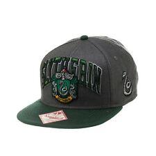 Harry Potter Slytherin Snapback Cap | Slytherine Crest and Logo Design Hat