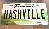 USA Car License Plate License Plate Decor Tin Sign Nashville Tennessee