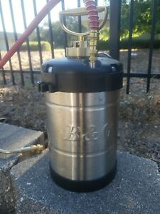 "B&G 1 Gallon Professional Sprayer w/ 18"" Wand N124-18  #11003700 Open Box 🇺🇸"