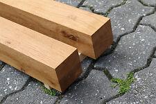 Eiche Tischbeine Tischfuß Kantholz Vierkantbein Möbelfuß Untergestell 8x8cm NEU