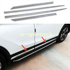 Chrome Side Door Body Molding Cover Trim For Mitsubishi Eclipse Cross 2018 2019