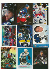 Teemu Selanne lot of 9 hockey cards with several inserts