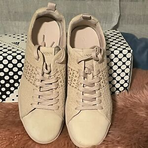 Lacoste Womens Logo sneakers pink size US 9 Eur 40.5 AUS 10