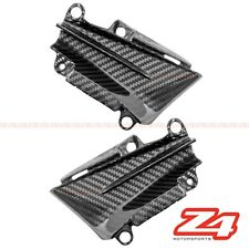 2014-2017 Z1000 Z1000R Front Air Intake Ram Trim Panel Fairing Cowl Carbon Fiber