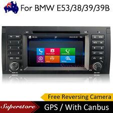 "7"" BMW X5 E39 Win CE Car DVD GPS Stereo Player Head Unit SERIES E53 E38 E39 39B"