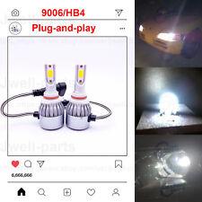 2020 NEW 9006 HB4 LED Headlights Bulbs Kit Lamp Light 65W 6000LM 6000K White