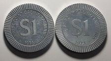 1973 $1 Chips  Wrest Point Casino Tasmania