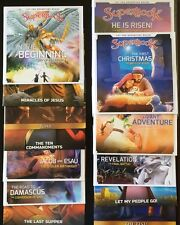 13 SUPERBOOK! All NEW Season 1 DVDs CBN, Children, Faith, Family