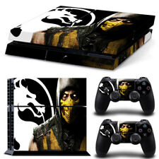 Mortal Kombat Game Vinyl Sticker For Playstation4 Console+2 controller Skin PS4