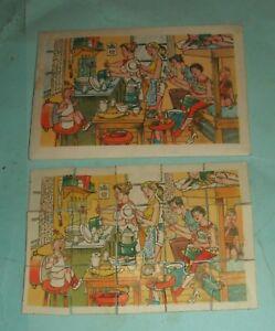 Netherlands Soep Regal / Regal Soup Vintage Jigsaw Puzzle - Crowded Indoor Scene