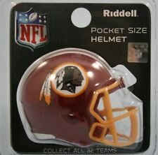 NFL Football Américain Washington Redskins Riddell Speed Pocket Pro Casque